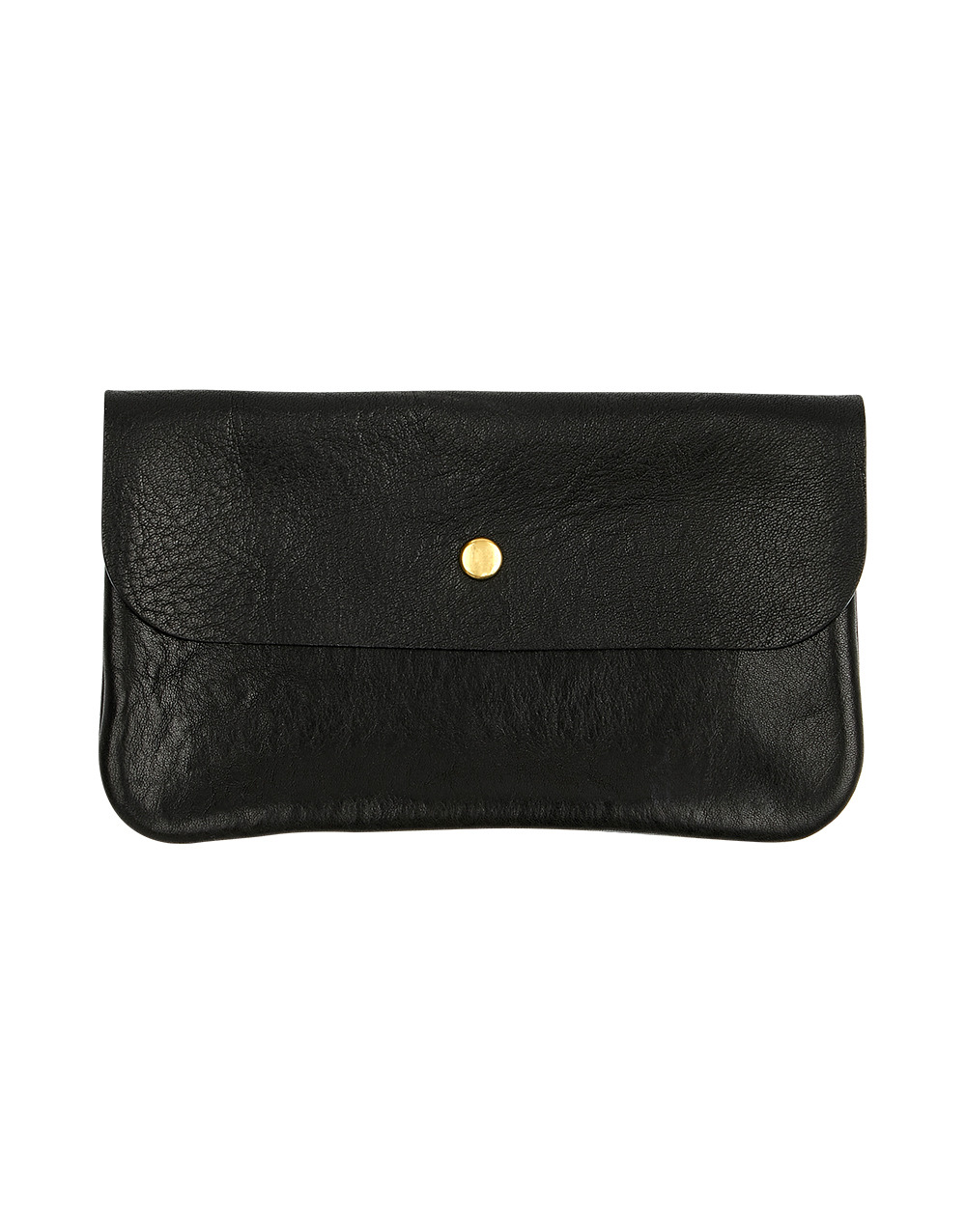 DURAM FACTORY FLAP POUCH (L)  BLACK