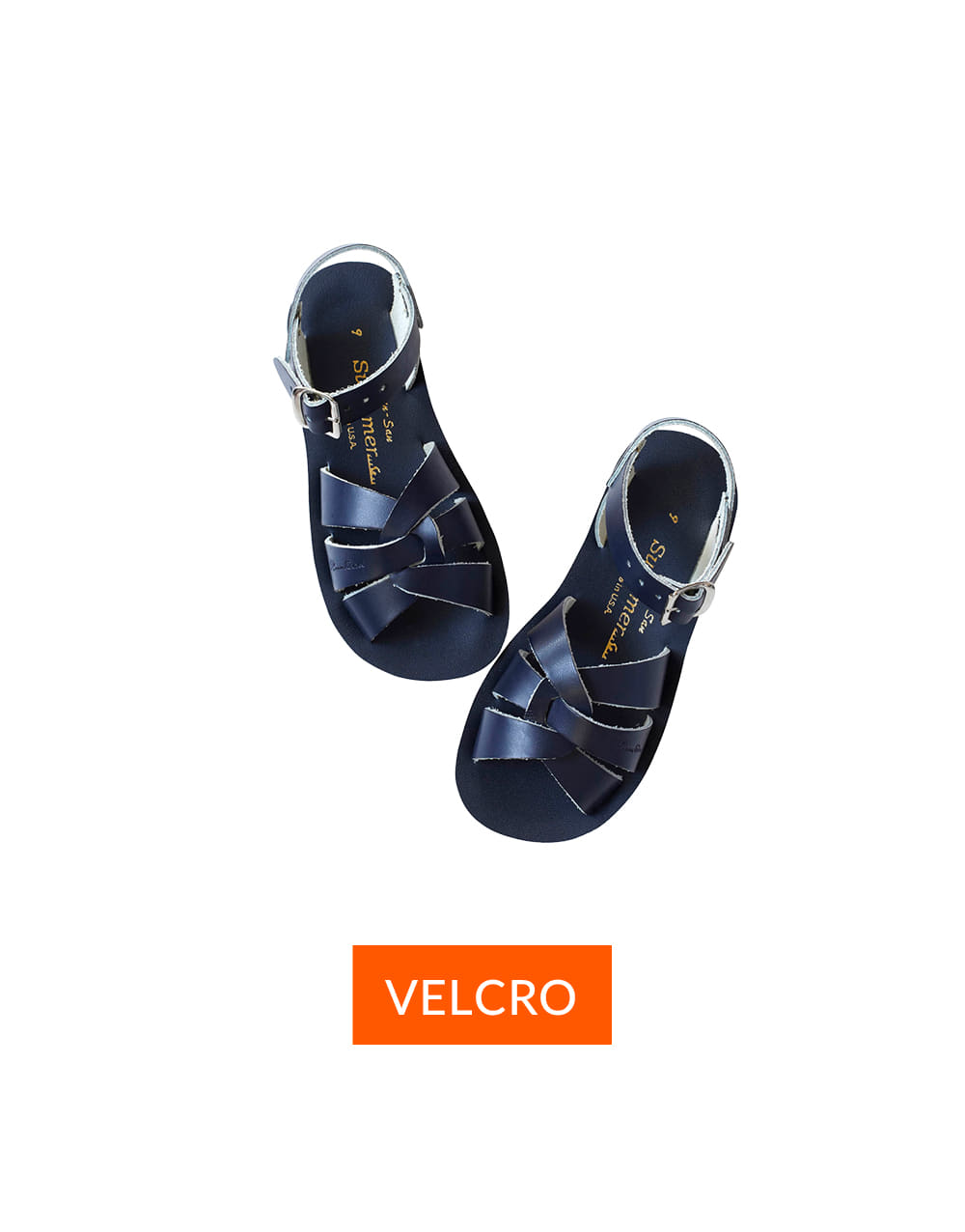 SALT-WATER SANDAL  CHILD VELCRO SWIMMER  Navy