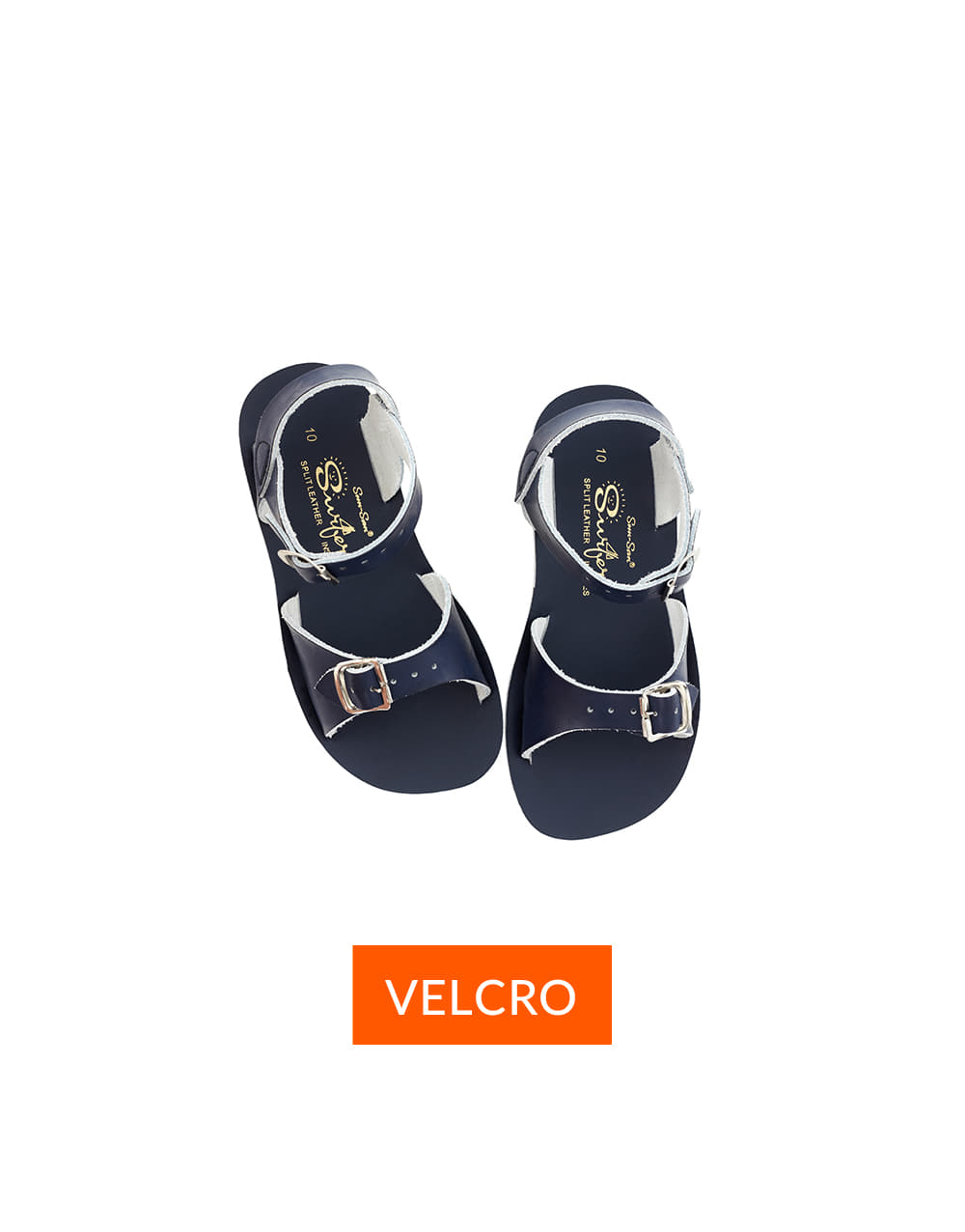 SALT-WATER SANDAL  CHILD VELCRO SURFER  Navy