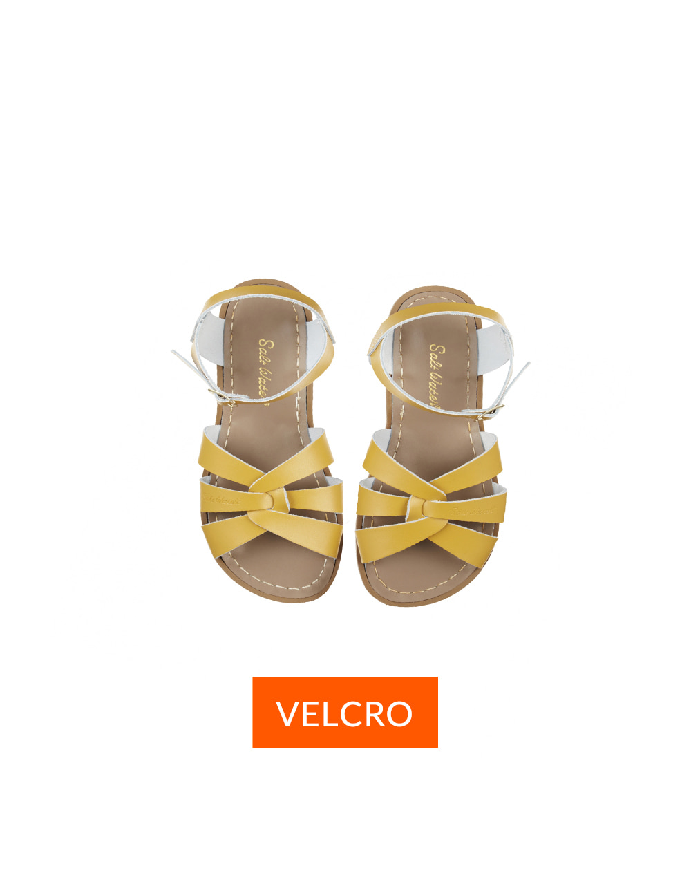 SALT-WATER SANDAL  CHILD VELCRO ORIGINAL  Mustard