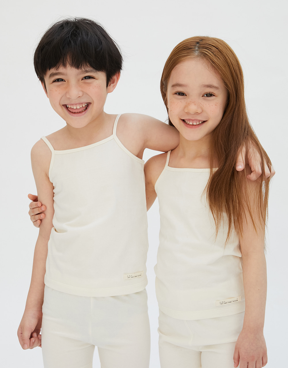 GBH APPAREL KIDS  ORGANIC CAMISOLE NATURAL