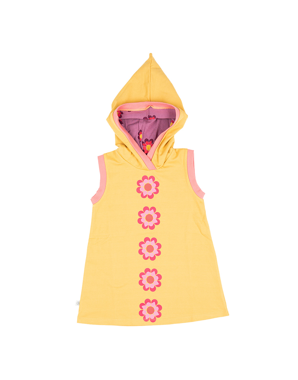 ALBA ORIGINAL TRINE HOOD DRESS  Orange.com