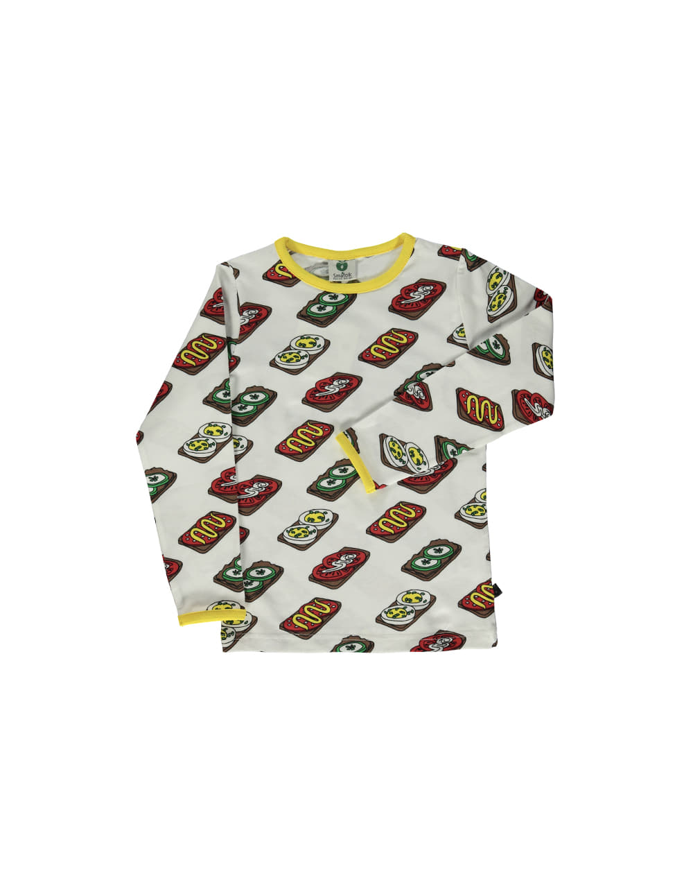 SMAFOLK  T-shirt with Food  Cream