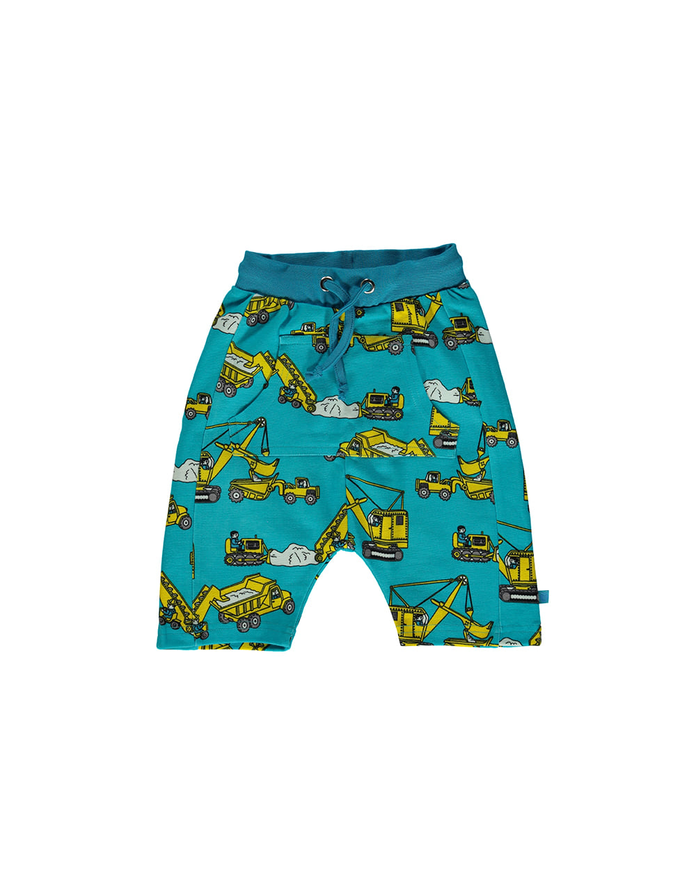 SMAFOLK Shorts with Machines  Blue Atoll