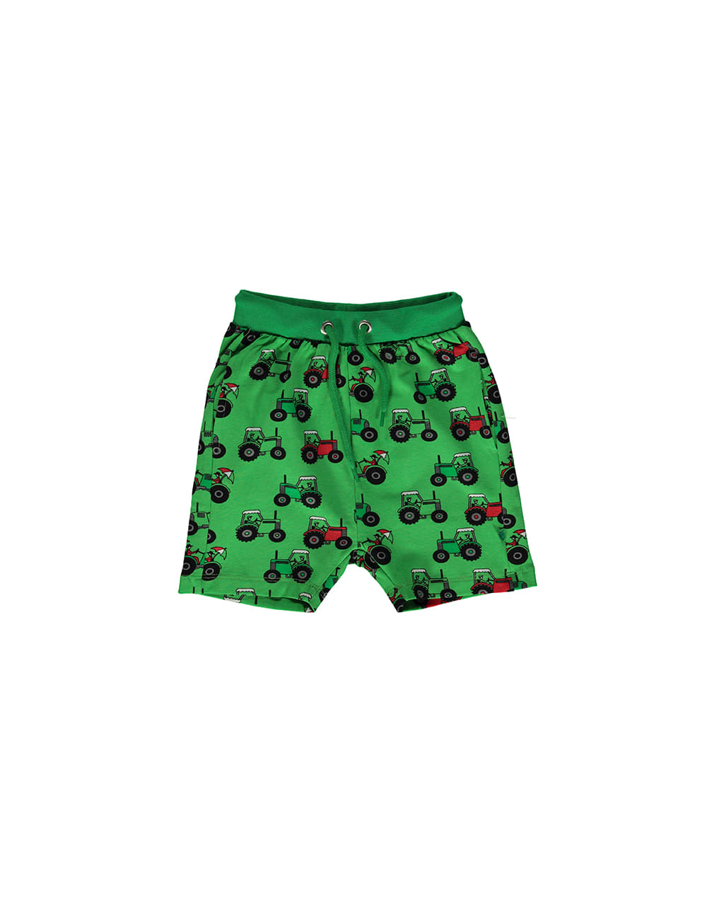 SMAFOLK Shorts with Tractor   Green