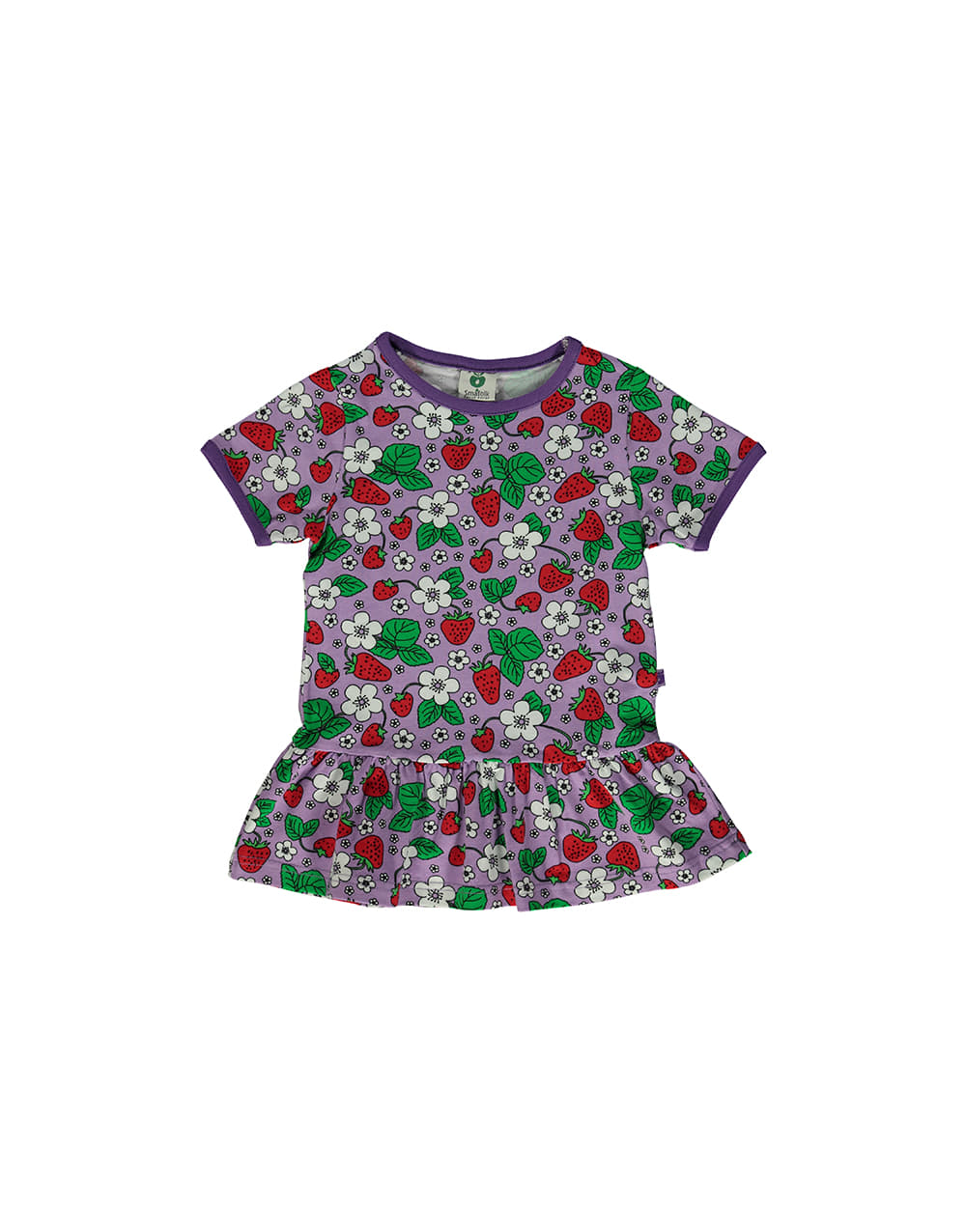 SMAFOLK  T-shirt with skirt and Strawberries  Viola