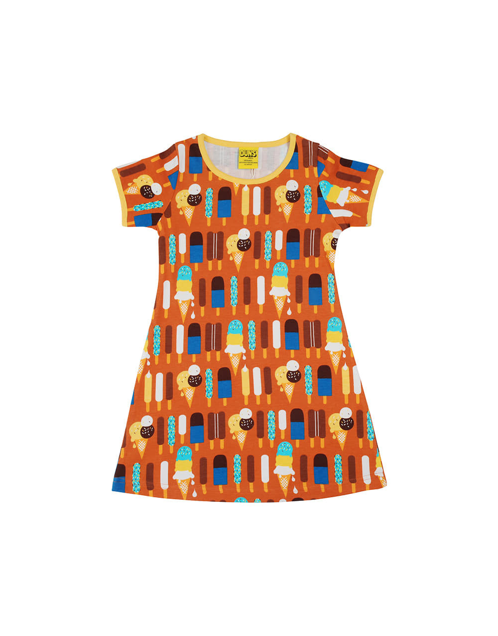 DUNS SWEDEN  SS DRESS  Ice Cream Pumpkin