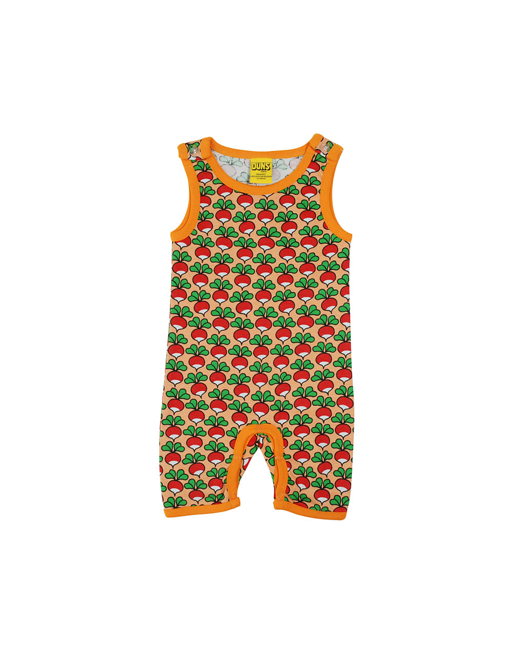 DUNS SWEDEN  Summer DUNGAREES   Radish Canteoupe