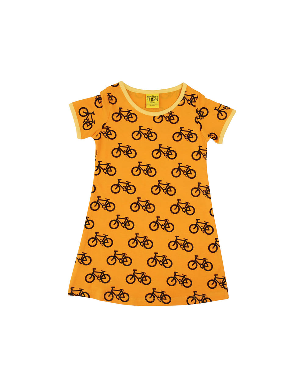 MORE THAN A FLING  SS DRESS Bike Orange