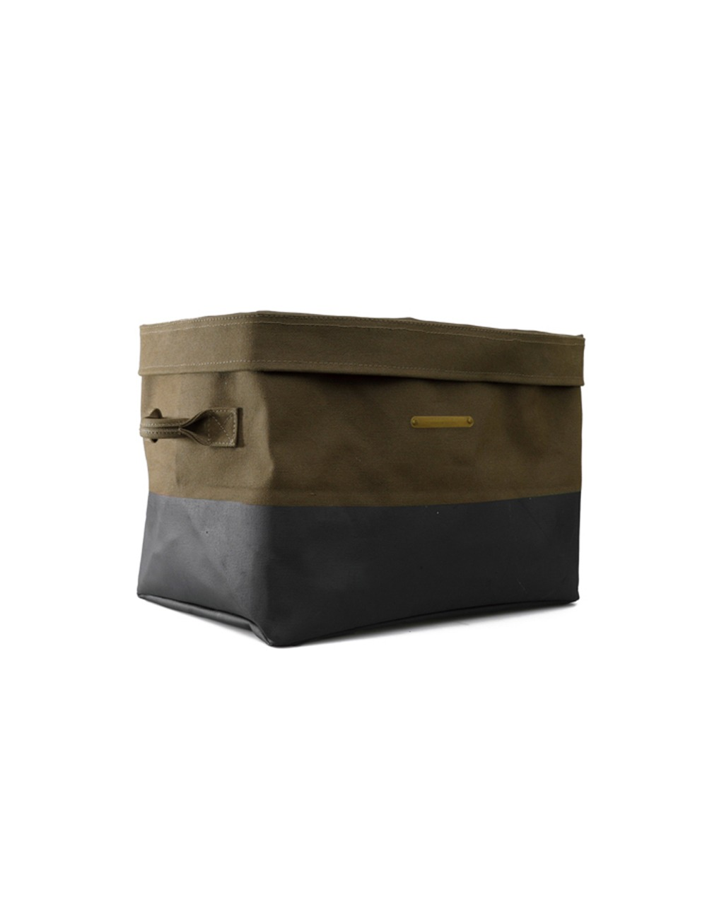 HIGHTIDE CANVAS STORAGE SQUARE  KHAKI
